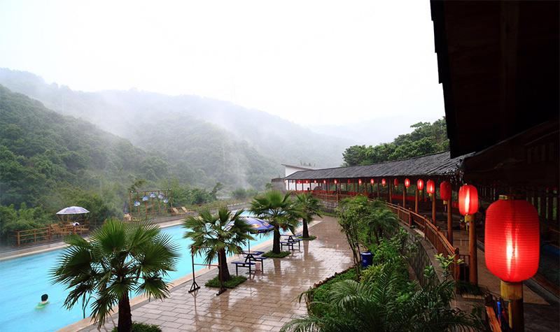 桂湖美人谷温泉休闲园