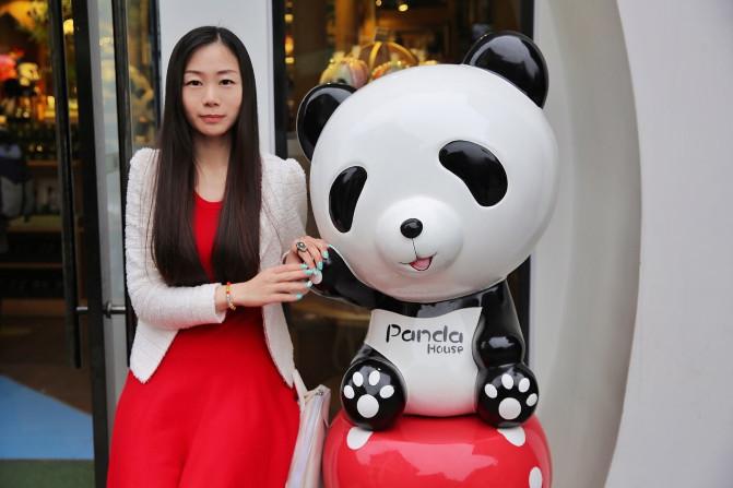 闺蜜微信可爱熊猫头像