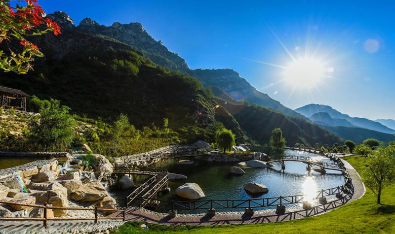 漫山花攻略德国到中国自驾游溪谷图片