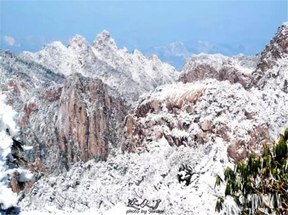 小天独家 冬季到黄山来看雪! - 达人J - 达人J · 365乐游日记