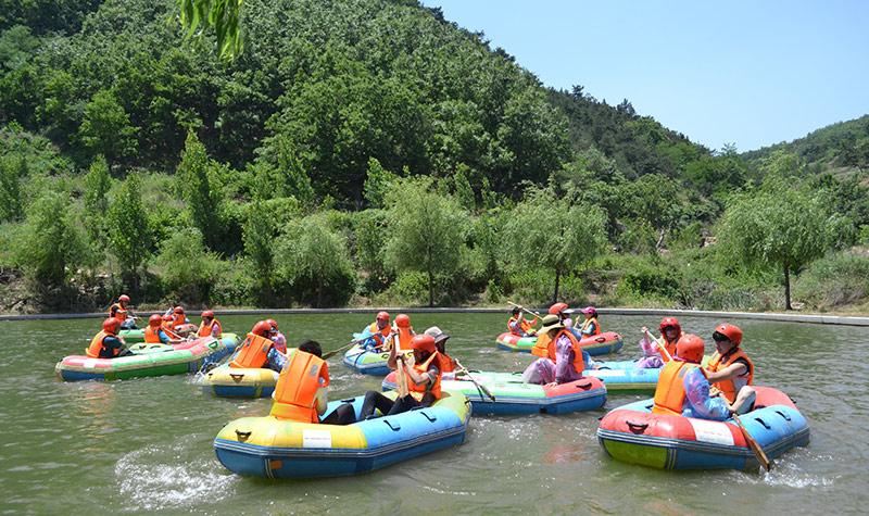 九仙山峡谷漂流