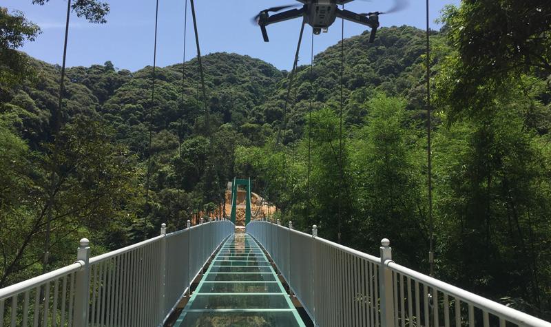 广东景区门票 河源景点门票 桂山  会晃动的玻璃桥 桂山玻璃吊桥长138