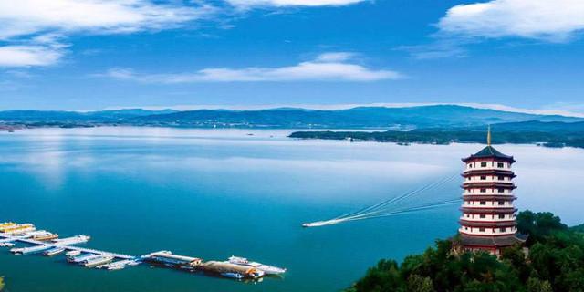 万佛湖风景区手机导游 wanfo lake scenic area