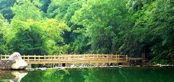 本溪老边沟风景区