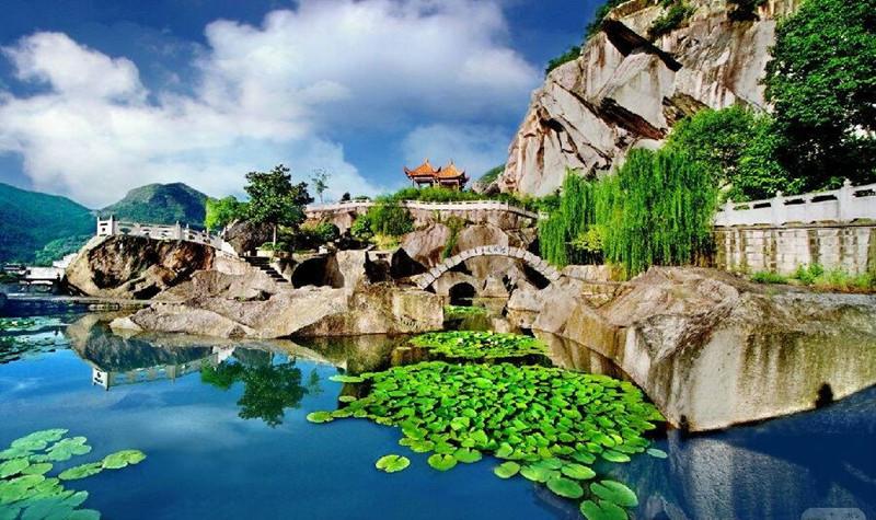 长屿硐天八仙岩