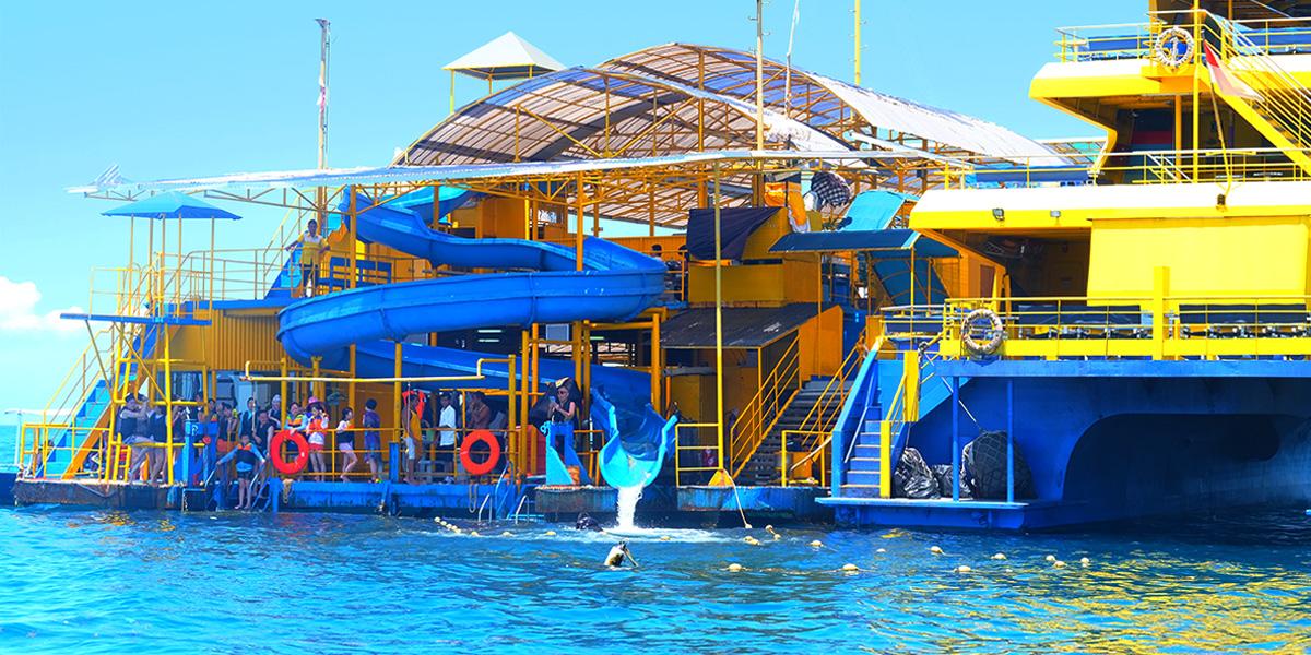 【巴厘岛】蓝梦岛bali hai cruise游船出海一日游