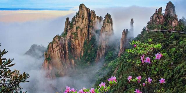 三清山风景名胜区手机导游 mount sanqing