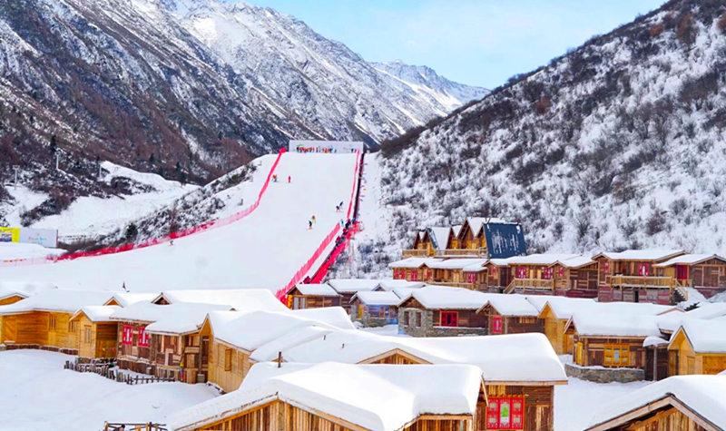 米亚罗风景区 滑雪
