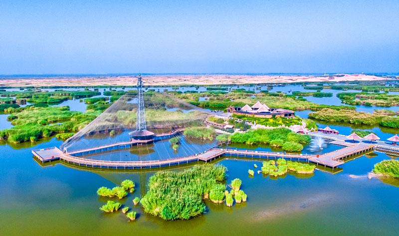 宁夏沙湖生态旅游区