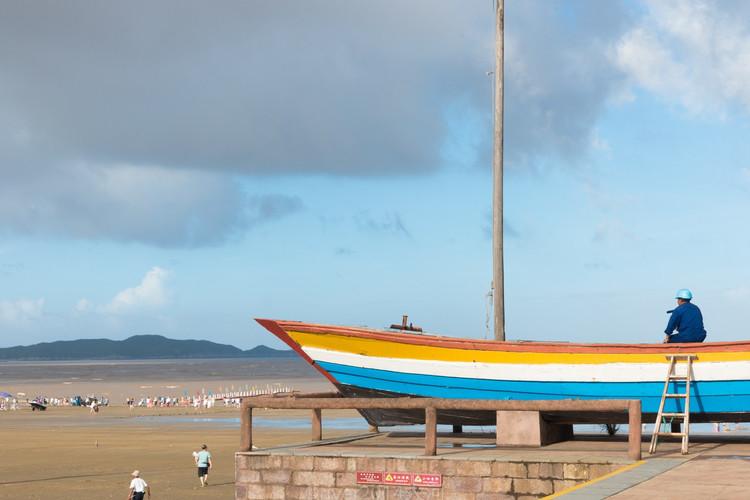 宁波海边一个低调的景区,已经美成欧洲小镇