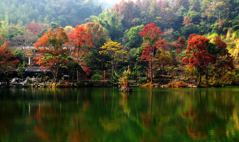 河源野趣沟风景区