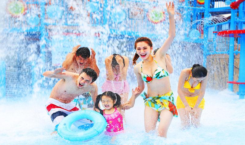 北京欢乐水魔方水上乐园