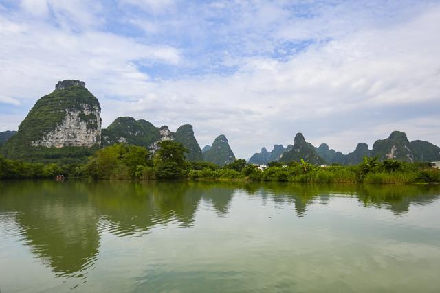 南宁,崇左,明仕田园,水口  下图的风景是不是感觉很是熟悉,在哪里见过