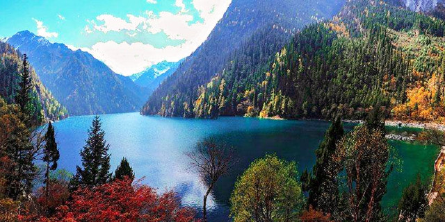 九寨沟手机导游  Jiuzhaigou National Park