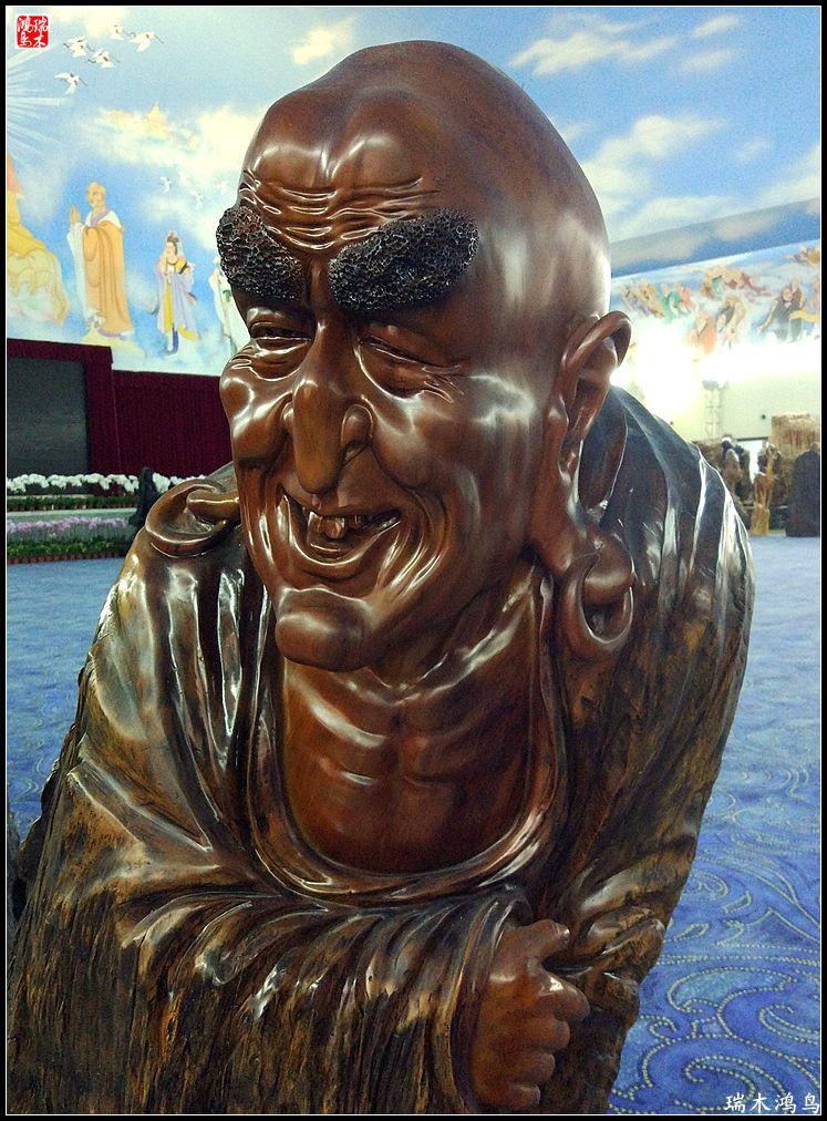 【手机随拍】龙脉根雕木雕艺术收藏展