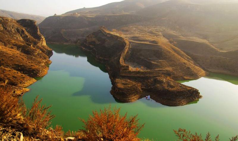 黄河大峡谷——老牛湾景区