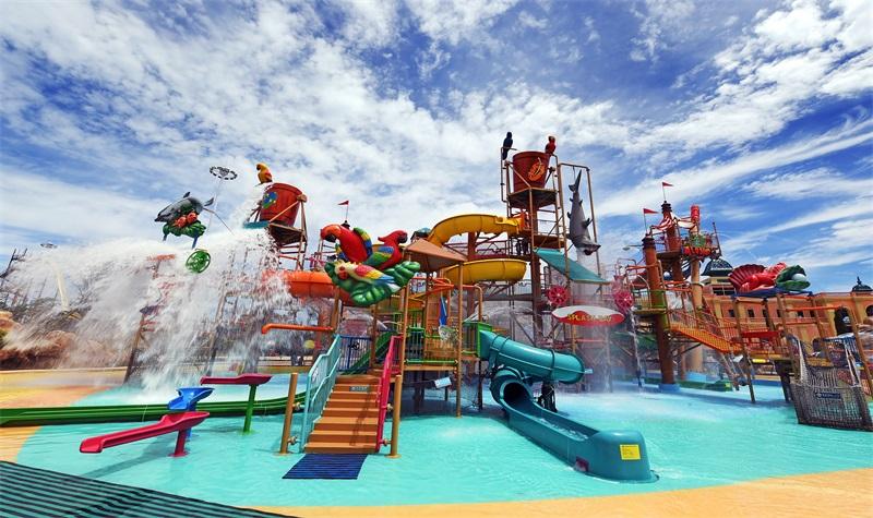 蓬莱欧乐堡水上世界图片
