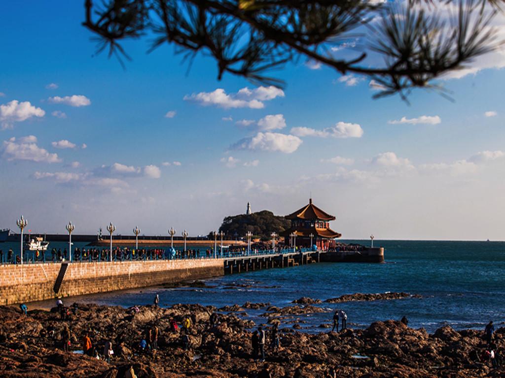青岛崂山 信号山 栈桥 五四广场 奥林匹克帆船中心 蓬莱八仙渡海口