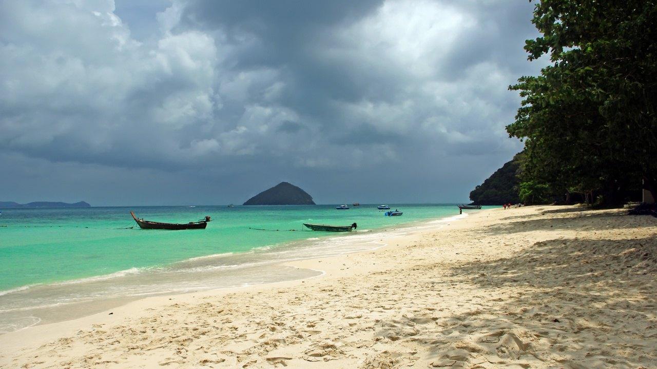 【普吉岛】珊瑚岛 蜜月岛(神木岛)双体帆船包船一日游