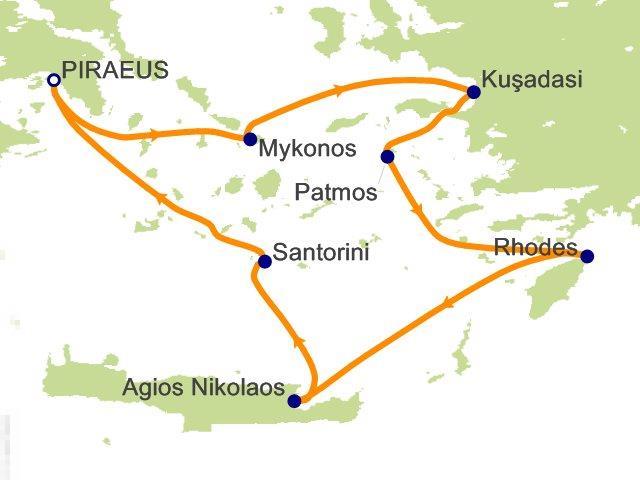 雅典旅游地图中文版