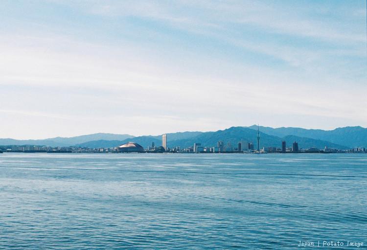 搭船去日本,最美海岸线,感受盛夏小清新