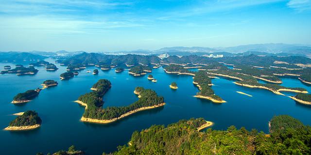 杭州千岛湖森林氧吧手机导游 thousand islet lake