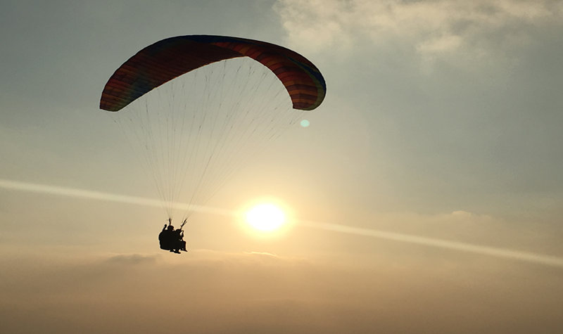 花山滑翔伞基地