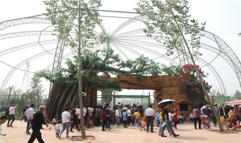 濮阳东北庄野生动物园