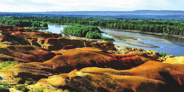 新疆天山天池 吐鲁番 葡萄沟 鄯善沙漠 五彩滩 喀纳斯 禾木 五彩滩