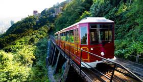 香港太平山缆车