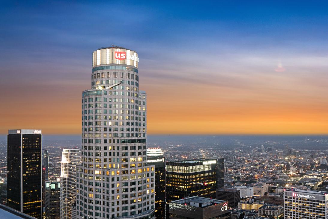 洛杉矶天空观景台OUE Skyspace Los Angeles