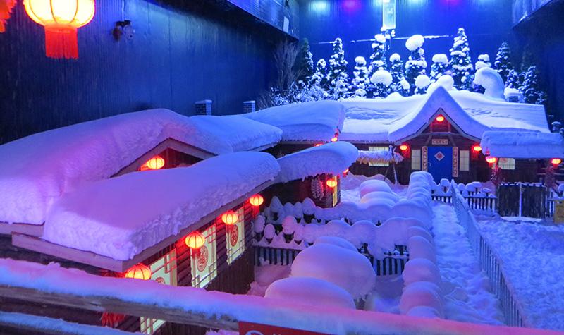 雪飘飘冰雪世界
