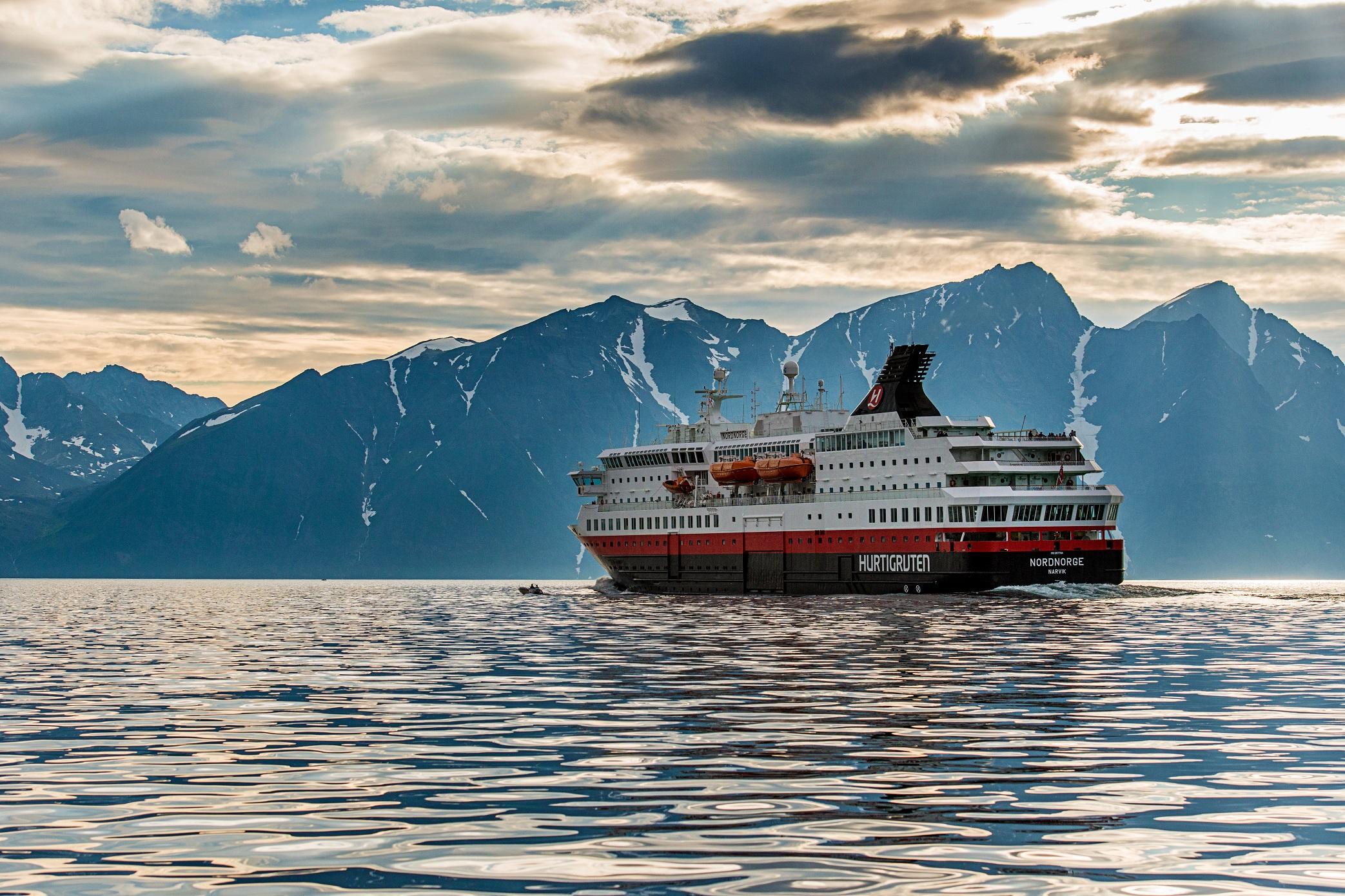 海达路德邮轮北挪威号