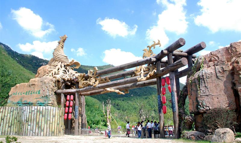 江苏大阳山国家森林公园文殊寺景区