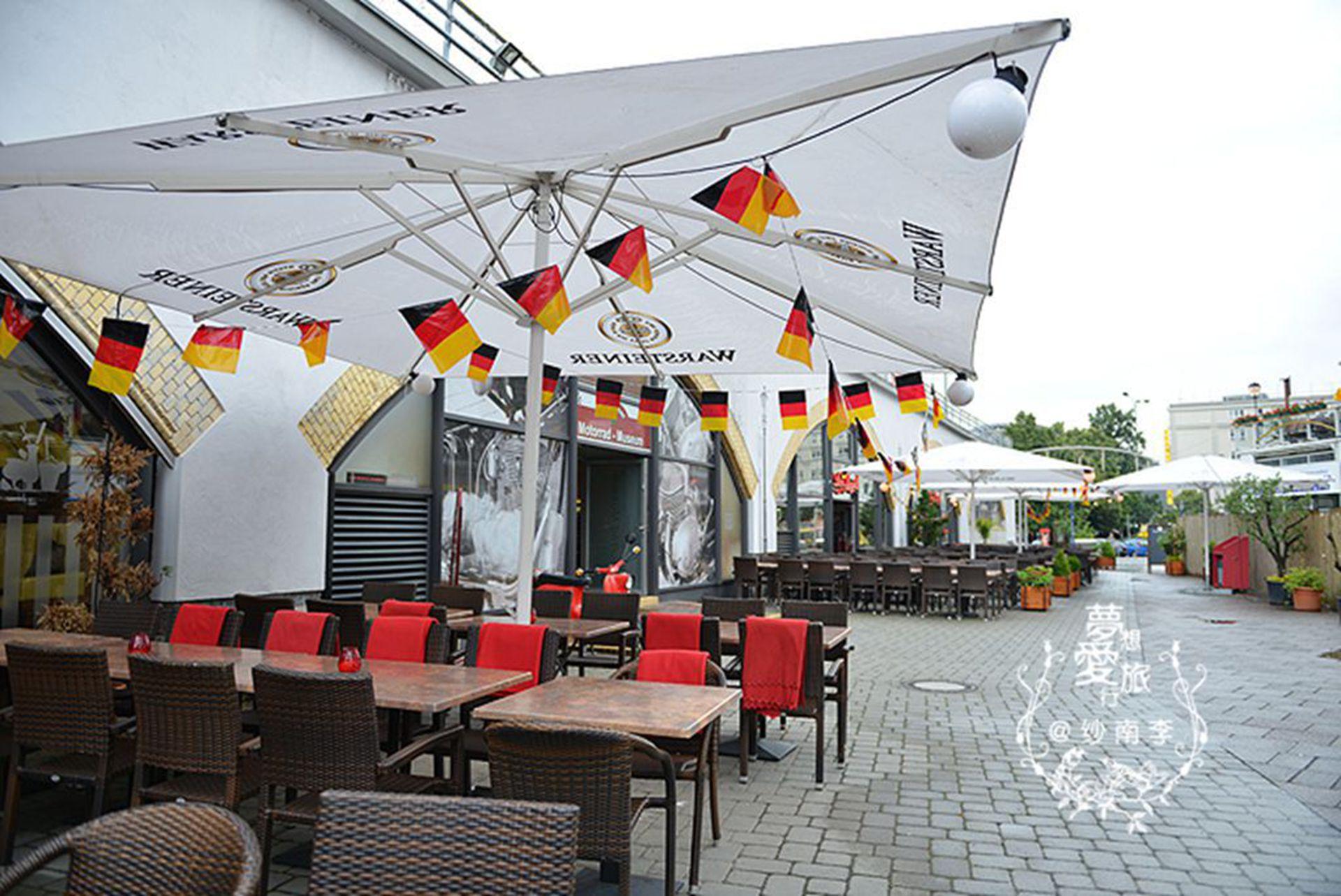 去找柏林第一汉堡,彩蛋是世界最大的摩托车博物馆!图片