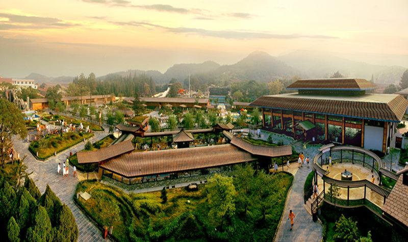 江西庐山风景区平面图