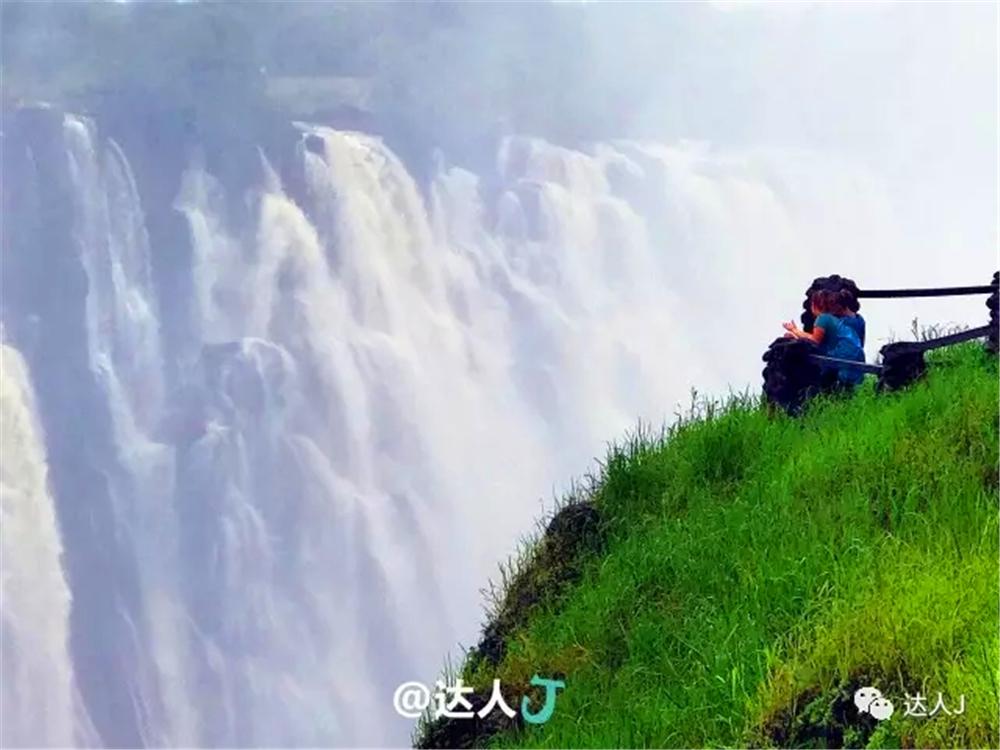 壮观-你敢作死在这个瀑布上面洗个澡不? - 达人J - 达人J · 365乐游日记