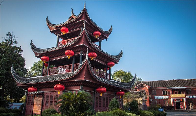 黔阳古城芙蓉楼
