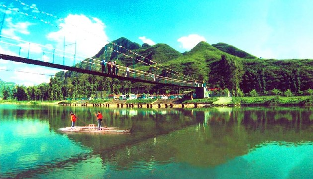 【天津出发】 野三坡-清泉山-十渡风景区-孤山寨>2日跟团游 赠漂流