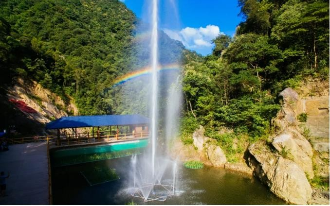 验客招募|挑战彩虹玻璃桥,抖在韶关云门山  景区介绍 呐喊喷泉 景区