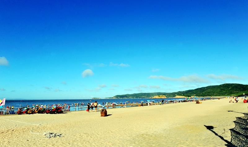嵊泗基湖沙滩景区