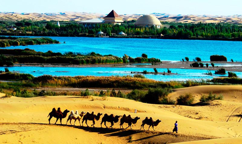 库布其国家沙漠公园(七星湖景区)