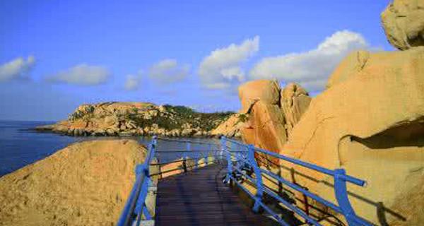 【美食度假】 台山那琴半岛地质海洋公园 康桥温泉度假2天游>海滩