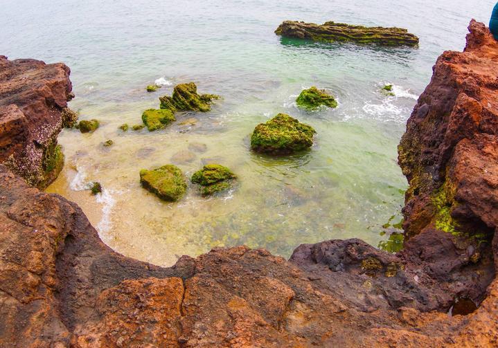 涠洲岛 【涠洲岛】北海以南,有岛涠洲   二,海枯石烂的见证——月亮湾