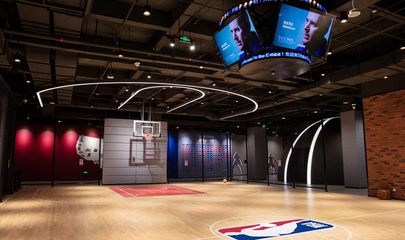 NBA互动体验馆