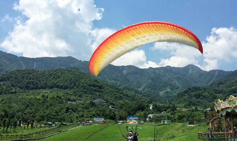 九龙山滑翔伞