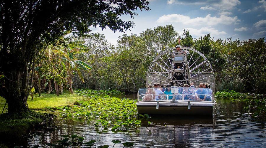 【即時確認·閃電出票】邁阿密大沼澤地國家公園之旅【自由觀光+汽船體驗】