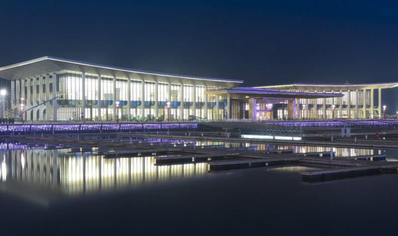 上合峰会场馆(青岛国际会议中心)
