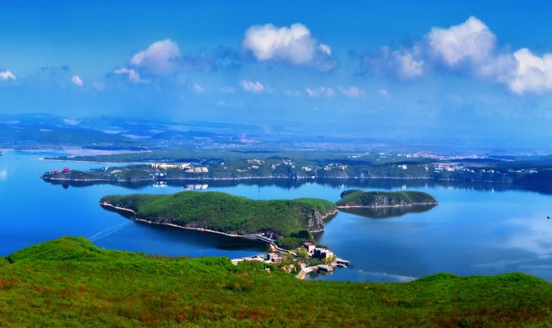牡丹江镜泊湖风景区