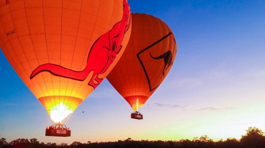 凱恩斯30分鐘浪漫熱氣球【迎接晨光,看袋鼠奔跑,已含稅30澳幣,無需另付】